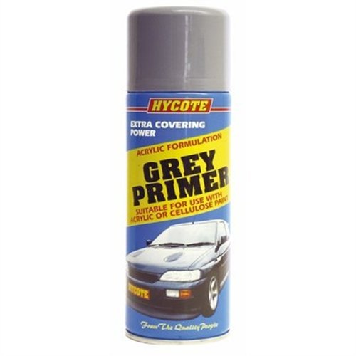 Hycote Grey Primer 400ml Aerosol Spray Paint