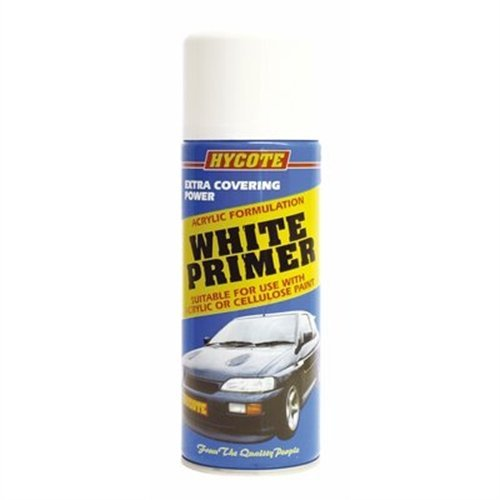 Hycote White Primer 400ml Aerosol Spray Paint